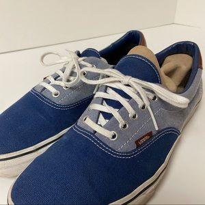Vans Era 59 2-tone classic sneakers w leather trim
